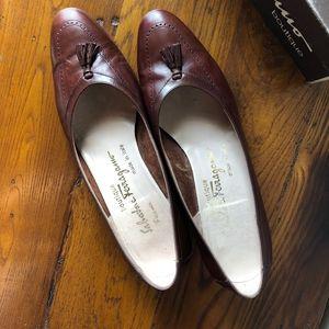 Salvatore Ferragamo Made in Italy Leather with Box
